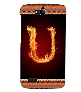 PrintDhaba GRANDbet U D-2549 Back Case Cover for HUAWEI HONOR HOLLY (Multi-Coloured)