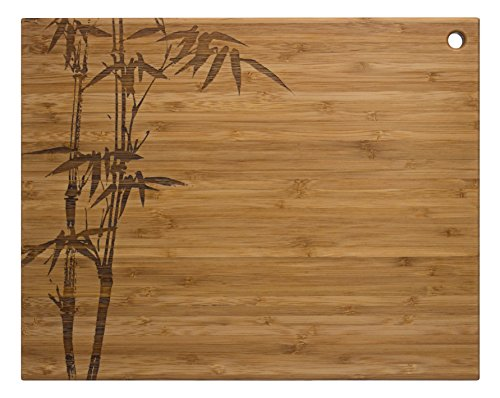 Totally Bamboo Cut 'N Serve Cutting Board, 14-Inch