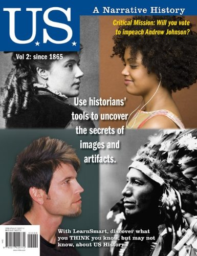 Us: A Narrative History, Volume 2: Since 1865 front-920877