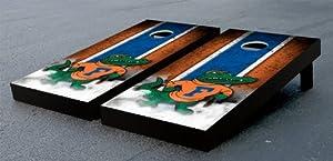 Florida UF Gators Cornhole Game Set Albert Vintage Version Corn Hole by Gameday Cornhole