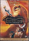 The Lion King DVD [2-disc Special Edition] Region 2 Pal, Non-usa Format. 85 Min. Animation | Adventure | Drama Stars: Matthew Broderick, Jeremy Irons, James Earl Jones (Voices). Languages: English, Greek, Russian. Subtitles: English, Greek, Russian