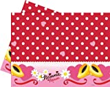 6ft Minnie Mouse Polka Dot Plastic Table Cover