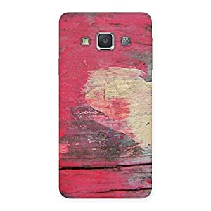 Cute Vintage Red Yellow Print Back Case Cover for Galaxy A3