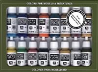 Vallejo Medieval Colors Paint Set, 17ml from Vallejo
