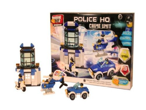 Block Tech - Police Head Quarters - Crime Unit - 1