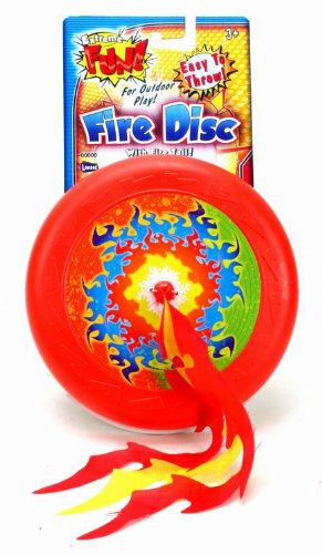 Lanard 20cm Fire Disc with Streamers - 1