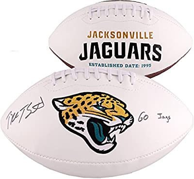 Blake Bortles Jacksonville Jaguars Autographed White Panel Football With Go Jags Inscription - Fanatics Authentic Certified