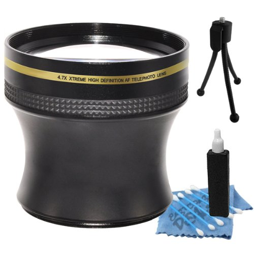 4.7X Xtreme Super Hd High Definition Af Telephoto Converter 52Mm Lens For Canon Ef 35Mm F/2