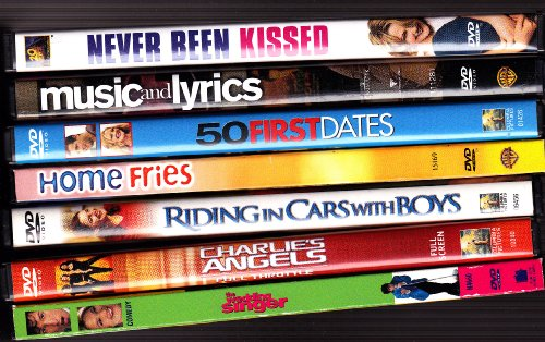 Never Been Kissed , Music and Lyrics , 50 First Dates , Home Fries , Riding in Cars with Boys , Charlie's Angels , the Wedding Singer : Drew Barrymore Collection (Riding In Cars With Boys compare prices)