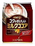 ポッカサッポロ 明治コクがおいしいミルクココア 缶250g×24本入