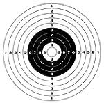 Gamo Paper Bullseye Targets, 100-Pack