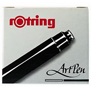 Rotring ArtPen Black Ink Cartridges (S0194751)