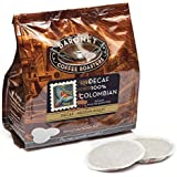 Baronet Coffee Decaf 100% Colombian Medium Roast (140 g), 18-Count Coffee Pods