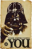 Star Wars - The Empire Needs You - Darth Vader 24x36 Poster