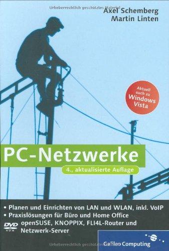 PC-Netzwerke einrichten u. planen mit VoIP für Büro und Home-Office
