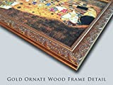 The Fall of the Damned (copy after Rubens) 24x18 Gold Ornate Wood Framed Canvas Art by David Scott