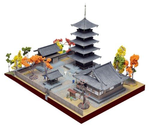 建物コレクション ジオラマベースB ~寺院~