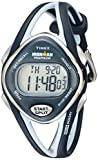 Timex Women's T5K038 Ironman Sleek 50-Lap Navy Resin Strap Watch