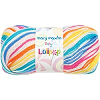 Mary Maxim Baby Lolipop Yarn, Gumball