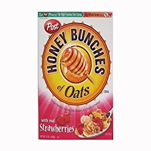 Honey Bunches of Oats with Real Strawberries, 13-Ounce Box
