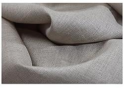 Variance 100% PURE LINEN Men's Shirt Fabrics (DARK NATURAL)