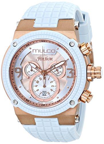 Mulco MW3-12140-413 - Reloj para hombres, correa de silicona