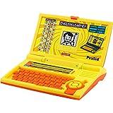 PraSid Kids English Learner Computer Toy Educational Laptop LemonOrange