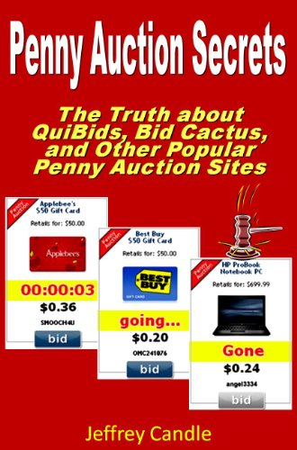Quibids advice how to win how not to lose on the penny for Auction advice