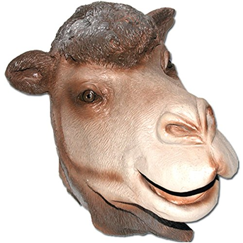 Camel Full Face Soft Latex Rubber Mask