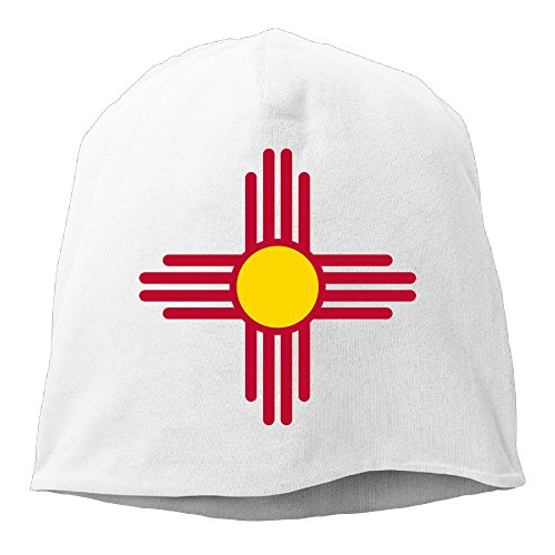 unisex-flag-of-new-mexico-adult-fashion-hedging-cap-wool-beanies-cap-white