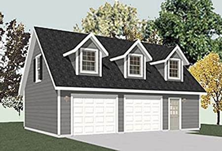 Garage plans blog behm design topics for Cost to build a two car garage with loft