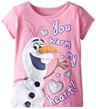 Extreme Concepts Little Girls' Disney FROZEN Too Cute T-Shirt