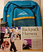 Eddie Bauer Backpack Harness and Tether - Turquoise