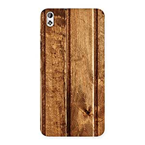 Impressive Wood Texture Back Case Cover for HTC Desire 816s