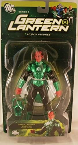 Green Lantern Series 5 Green Lantern Sinestro Action Figure