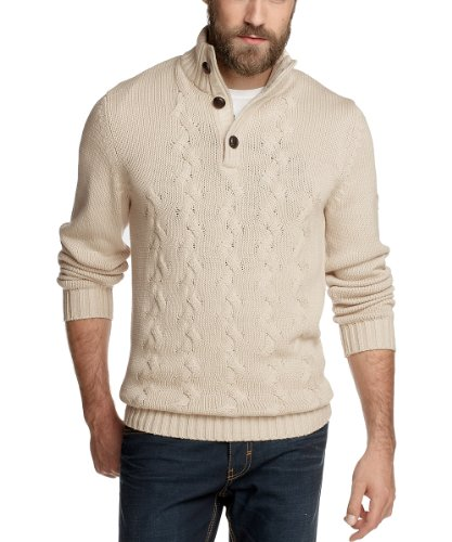 Edc by Esprit 102CC2I007 Men's Jumper Dune Beige Small
