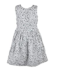 CoffeeBean Kids Girls Floral Print Dress(7-8 Years)