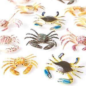 Plastic Toy Crabs (1 Dozen)