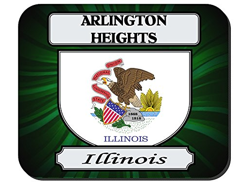 Arlington Heights, Illinois (IL) City Mouse Pad (City Of Arlington Heights Il)
