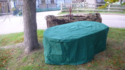Garden Furniture Centre - Garden Furniture Cover - 160cm Rectangular Table Picture