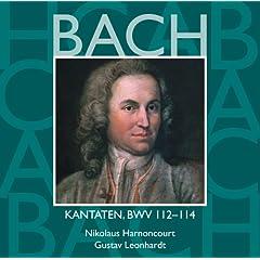 """Cantata No.114 Ach, lieben Christen, seid getrost BWV114 : II Aria - """"Wo wird in diesem Jammertale"""" [Tenor]"""
