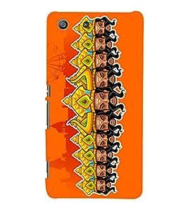 Ravan Clipart 3D Hard Polycarbonate Designer Back Case Cover for Sony Xperia M5 Dual E5633 E5643 E5663 :: Sony Xperia M5 E5603 E5606 E5653