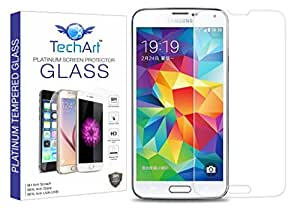 TechArt 2.5D Ultra Thin 9H Hardness Shatter Proof Premium Tempered Glass Screen Protector for Samsung Galaxy S5