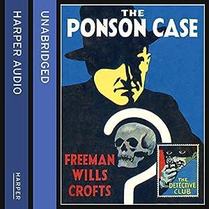 The Ponson Case Audiobook