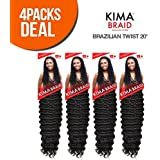 Harlem125 Synthetic Hair Braids Kima Braid Brazilian Twist 20""