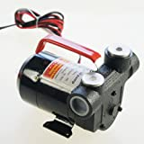 12V 370W Portable Diesel Self-priming Car Transfer Pump With Accessories 482116