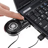 Big Bargain Mini Vacuum Blue LED USB Air Extracting Cooling Fan Cooler for Notebook Laptop