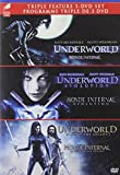 Underworld Trilogy (Underworld / Underworld: Evolution / Underworld: Rise of the Lycans) (Bilingual)