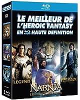 Le Meilleur de l'Heroic Fantasy en haute définition : Legend + Le Monde de Narnia - Chapitre 3 : L'odyssée du Passeur d'Aurore + Percy Jackson - Le Voleur de Foudre [3 Blu-ray]
