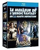 Le Meilleur de l'Heroic Fantasy en haute d�finition : Legend + Le Monde de Narnia - Chapitre 3 : L'odyss�e du Passeur d'Aurore + Percy Jackson - Le Voleur de Foudre [3 Blu-ray]